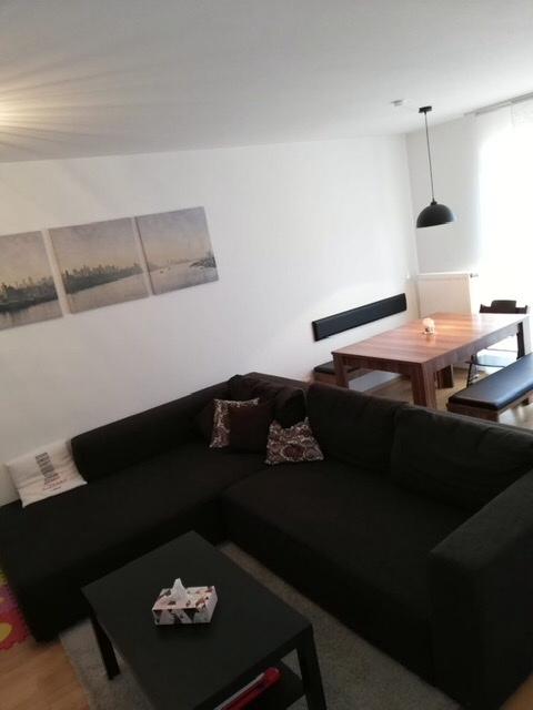 3-Zimmer-Wohnung  -   im Zentrum   -   schöner Süd-Balkon in Erding