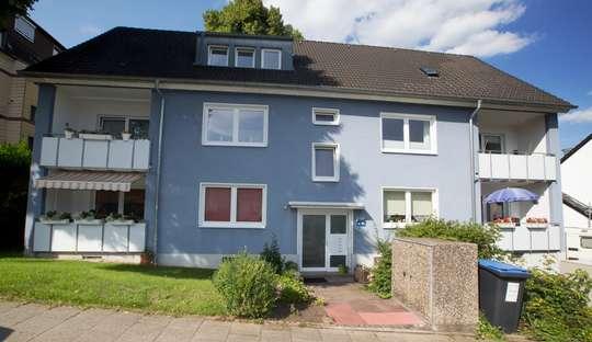 hwg - Ansprechende 3- Zimmer Wohnung mit Balkon!