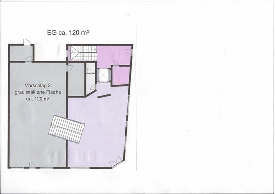 Grundriss 120 m2