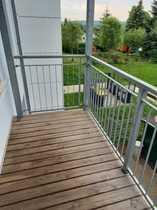 helle günstige 2-Zimmer-Wohnung mit Balkon