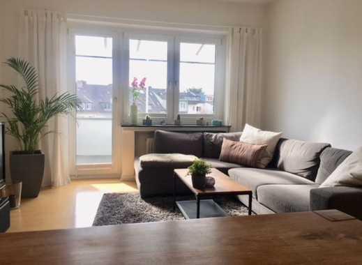 Sehr schöne, frisch renovierte 2 Zimmer-Whg. mit Südbalkon
