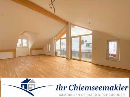 ***Erstbezug***sichern Sie sich die Dachgeschoß-Wohnung Nähe Klinikum in Traunstein