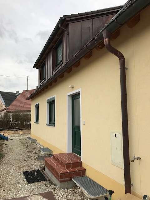Wohnen im Grünen - großzügige Wohnung für ein Paar
