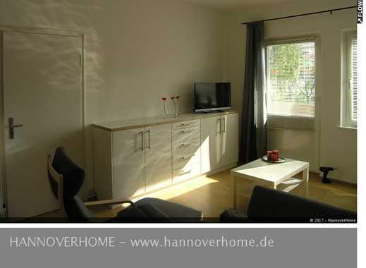 Südstadt- modern möblierte 3-Zimmer-Wohnung mit großem Balkon und Internet!