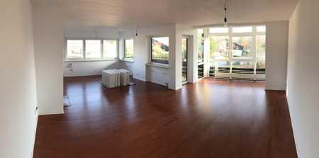 neu sanierte sonnige 3-Zi-Wohnung mit Berg und Seeblick, Osternach in Prien mit überdachtem Balkon in Prien am Chiemsee