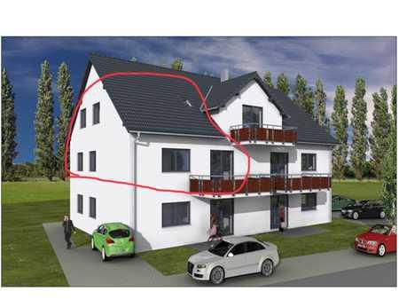 Erstbezug: schöne 4,5-Zimmer-Maisonette-Wohnung (140m²) mit großem Balkon in Gundihausen in Vilsheim