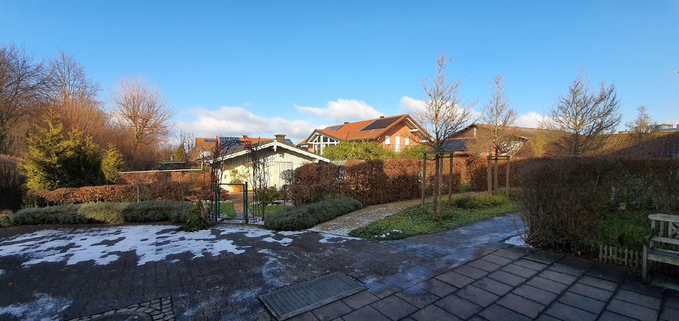 Gemütliche und geräumige Wohnung in Taufkirchen b. Kraiburg a.Inn - mit EBK und eigenem Gartenanteil in Taufkirchen (Mühldorf am Inn)