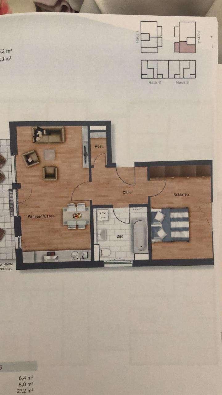 870 €, 71 m², 2 Room(s) in Weichs