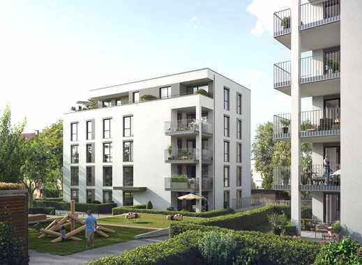 4-Zimmer-Penthousewohnung mit zwei Bädern und Dachterrasse für sonnige Stunden