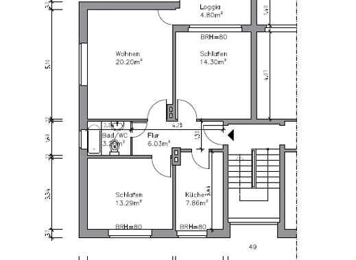Pinneberg- Quellental gemütliche 3-Zi.-Wohnung zu vermieten