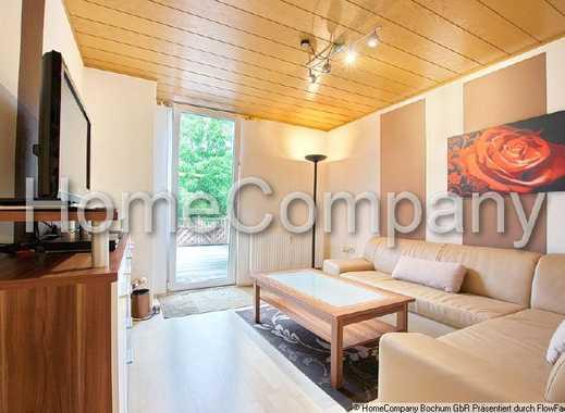 Ideal für die Familie oder bis zu drei Mitarbeiter: große Wohnung über zwei Ebenen mit Terrasse.