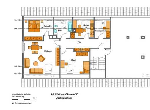 Schöne 3,5-Zimmer Wohnung - citynah!
