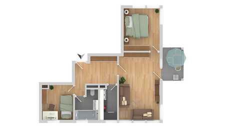 Helle, großräumige, gute geschnittene Dachgeschosswohnung in Unterschleißheim