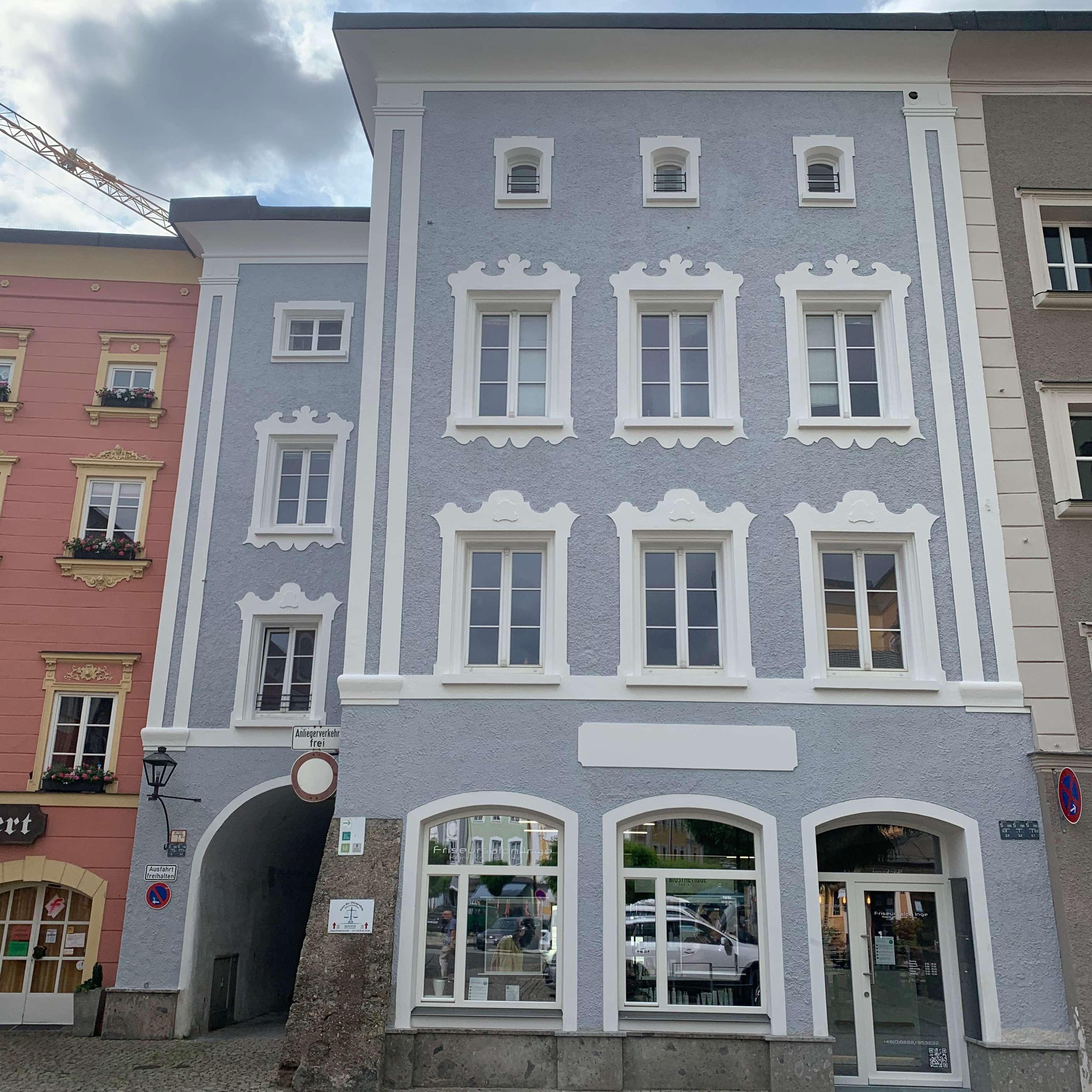 Wohnen im historischen Altstadt-Kern der Stadt Laufen in