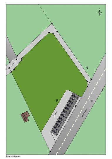 Plan Parkplatz