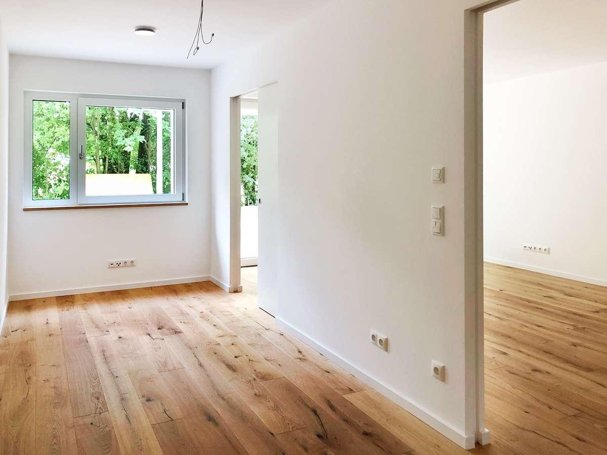 Wohnkonzept 50+ barrierefreie 2-Zimmer-Wohnung mit Terrasse und Gartenanteil in Ergolding