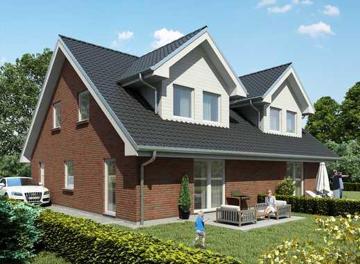 Nur noch einmal verfügbar - KfW 40-Doppelhaushälfte!