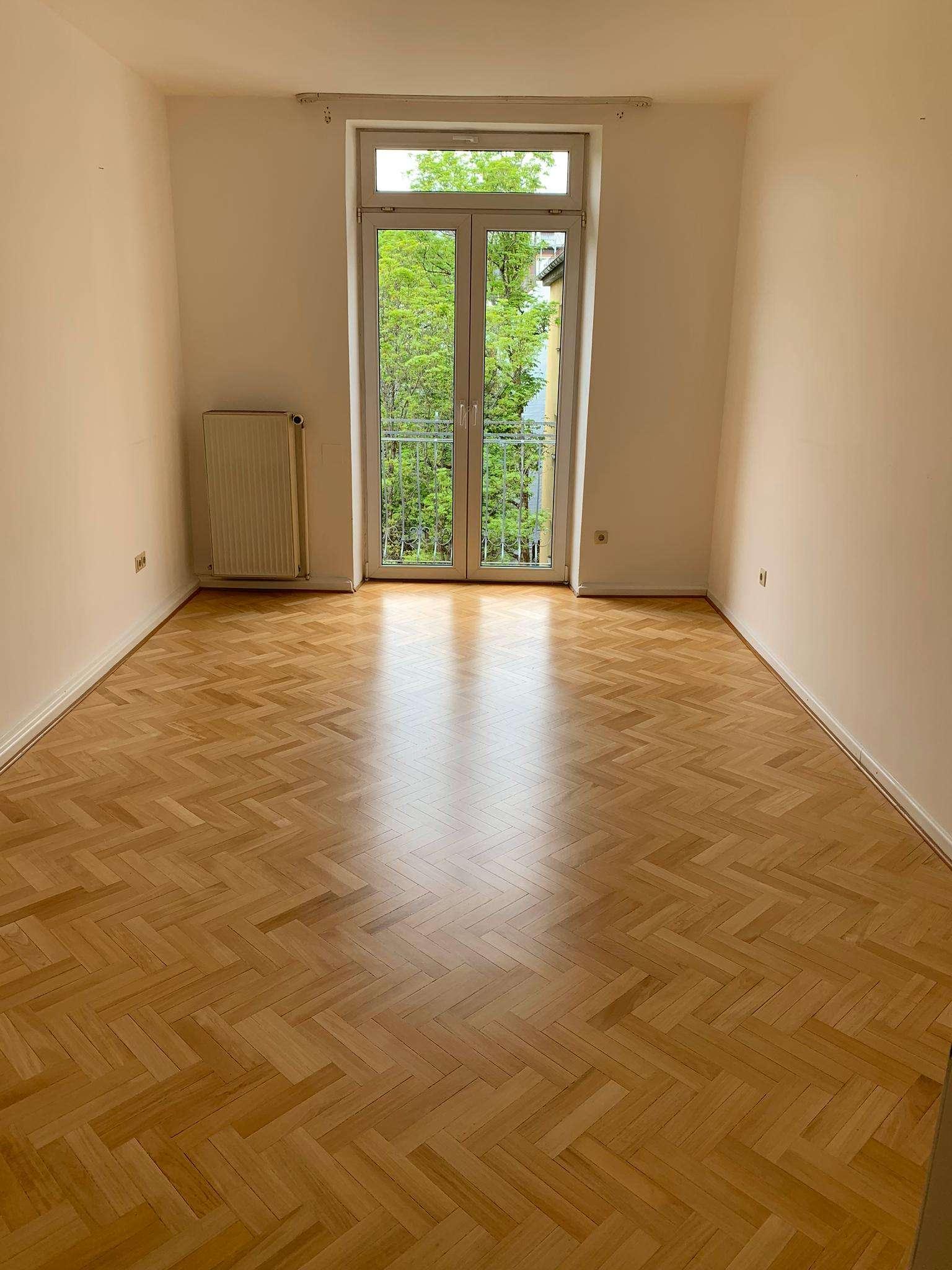 Exklusive, vollständig renovierte 2-Zimmer-Wohnung mit Balkon und EBK in Neuhausen, München in Neuhausen (München)
