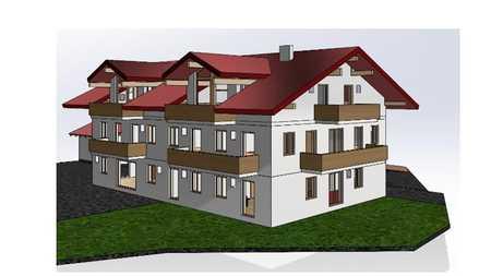 Neue Dachgeschoß-Wohnung in der Nähe von Prien/Chiemsee zu vermieten. in Prien am Chiemsee