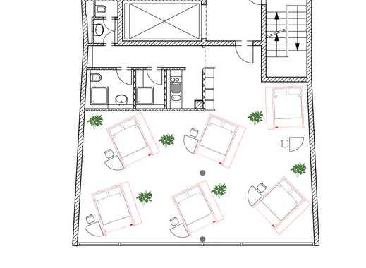 Top Lage |Viehofer Platz |Hostel für 12 Betten | Mit Baugenehmigung |Konzessionsfertig!
