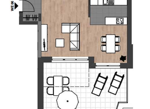 Neubau: Einzigartiges Schmuckstück mit 3-Zimmern und Dachgarten in Citylage Neu-Ulm