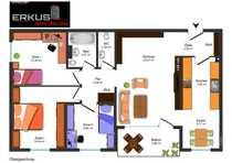 KL Gemütliche 4-Zimmer-Wohnung in bevorzugter