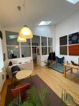 Traumhaftes Gartenhaus mit hellen Büroräumen