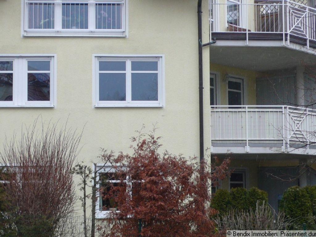 Ansicht Wohnung mit Balkon