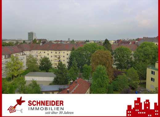 IMMOBILIEN SCHNEIDER -Schwabing - wunderschöne 6 Zi.- Whg. mit Dachterrasse, Sauna, EBK u. Parkett