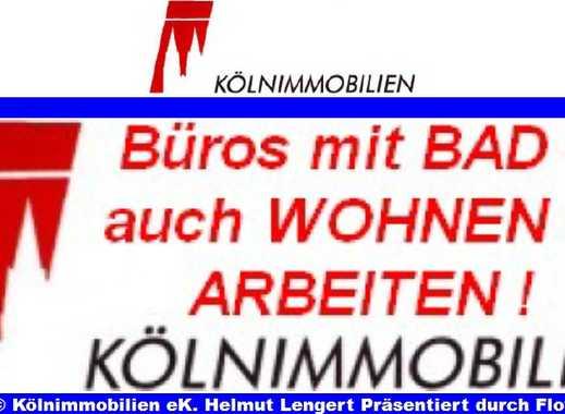 4-5-Zimmer-EG-ALTBAU-BÜRO mit KÜCHE+ BAD+ 2 BALKONEN im AGNESVIERTEL am OLG Reichensperger Platz