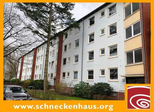 Schwachhausen, gut geschnittene Parterre-Wohnung mit großem Balkon!