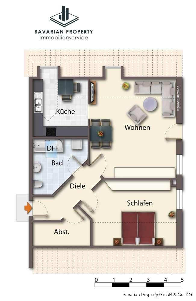 2 - Zimmer zu vermieten! in Feldkirchen (Straubing-Bogen)