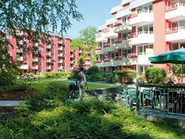 Unser parkartiger Innenhof