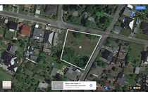 Baugrundstück für 1-3 Einfamilienhäuser in