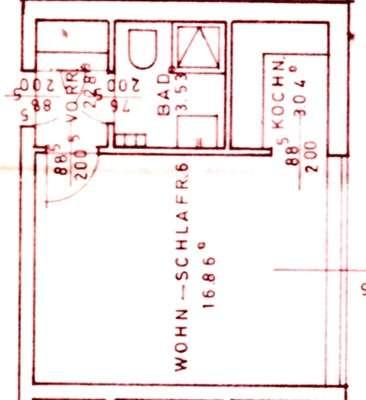 Erstbezug nach Sanierung: exklusive 1-Zimmer-Wohnung mit gehobener Innenausstattung in Straubing in