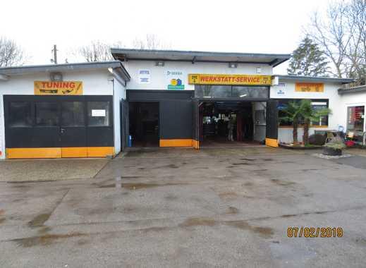 KFZ Werkstatt mit 15 KFZ Stellplätzen in bester Lage
