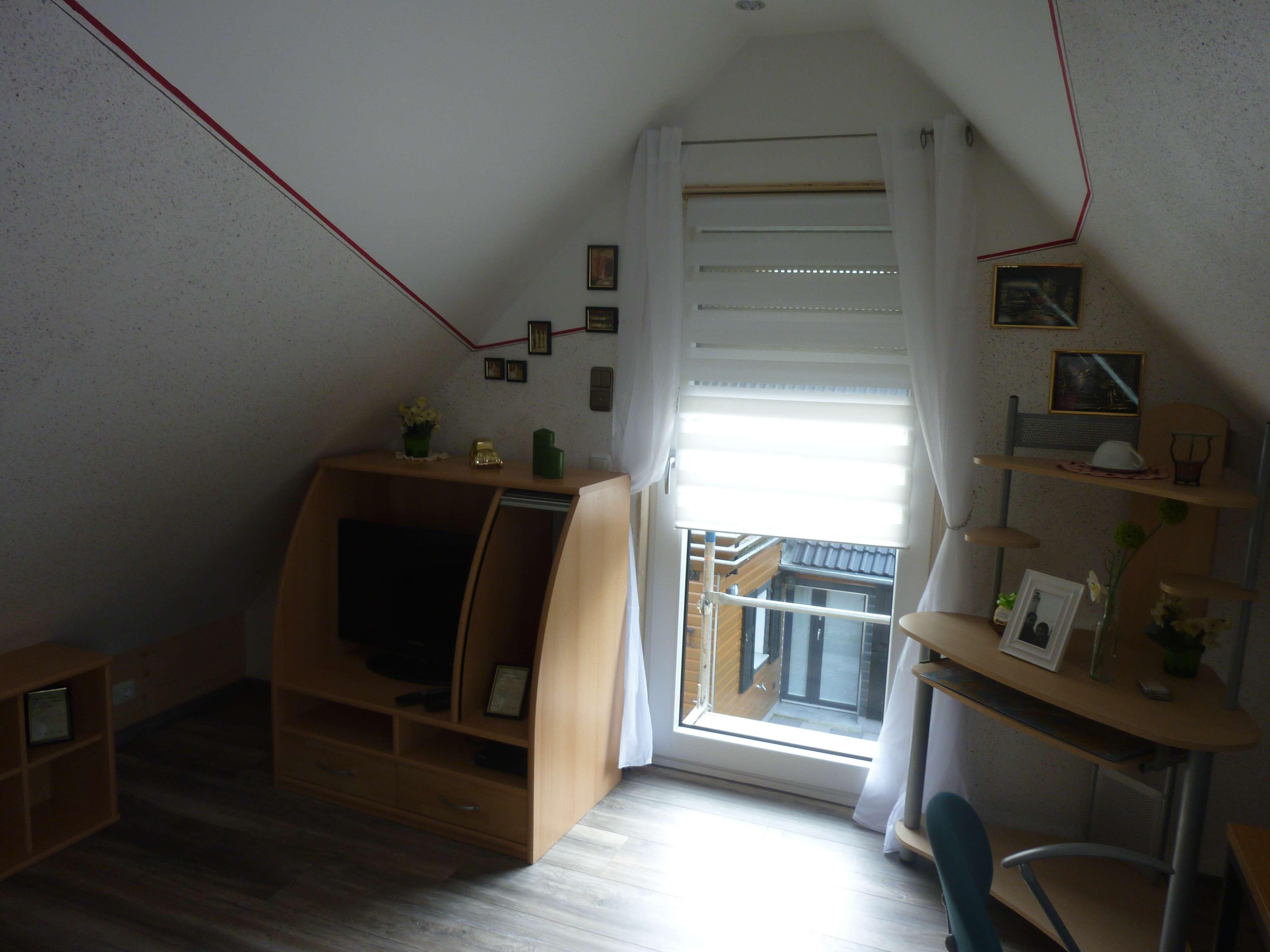 Einzelzimmer DG (Dusche wie WC Gemeinschaft)/ oder  Dusche-WC extra) OT Elbersroth 6kmvon Herrieden in