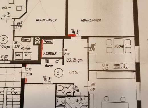 Freundliche 3-Zimmer-Wohnung mit Balkon und Einbauküche in Delmenhorst