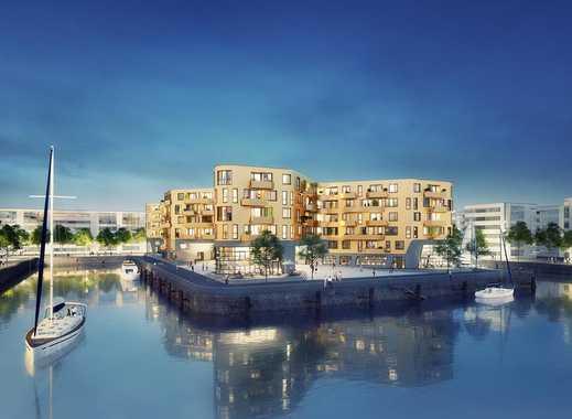 PANDION DOXX Micro Apartment - 1-Zimmer-Wohnung auf 38 m² mit Blick auf den Mainzer Zollhafen.