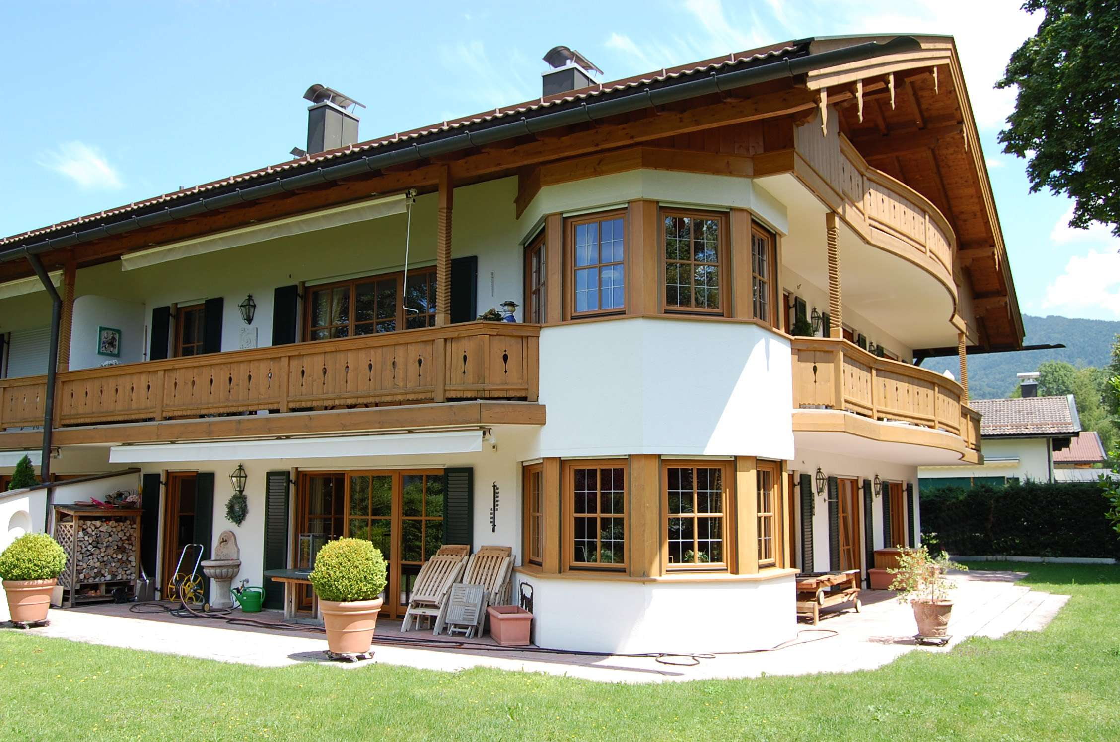 Exklusive 3-Zimmer-Gartenwohnung in Seenähe und bester Lage von Rottach-Egern