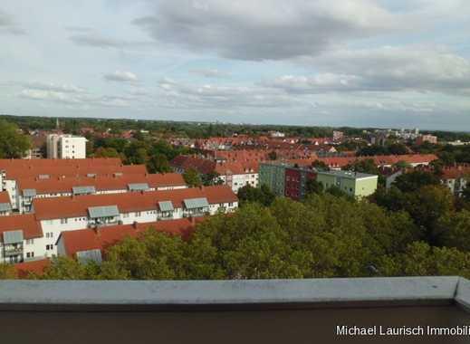 ml-Immobilien Über den Dächern von Ricklingen        3 Zimmer mit 2 Balkonen im 11 O.G.