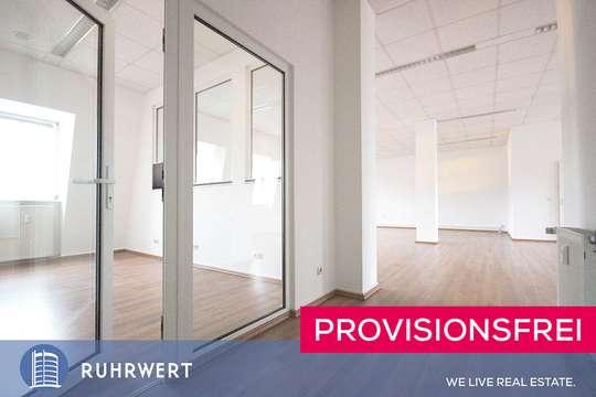 moderne Raumteilung von Stilvolles Arbeiten im Loft: Moderne Büroflächen mit industriellem Charme !!