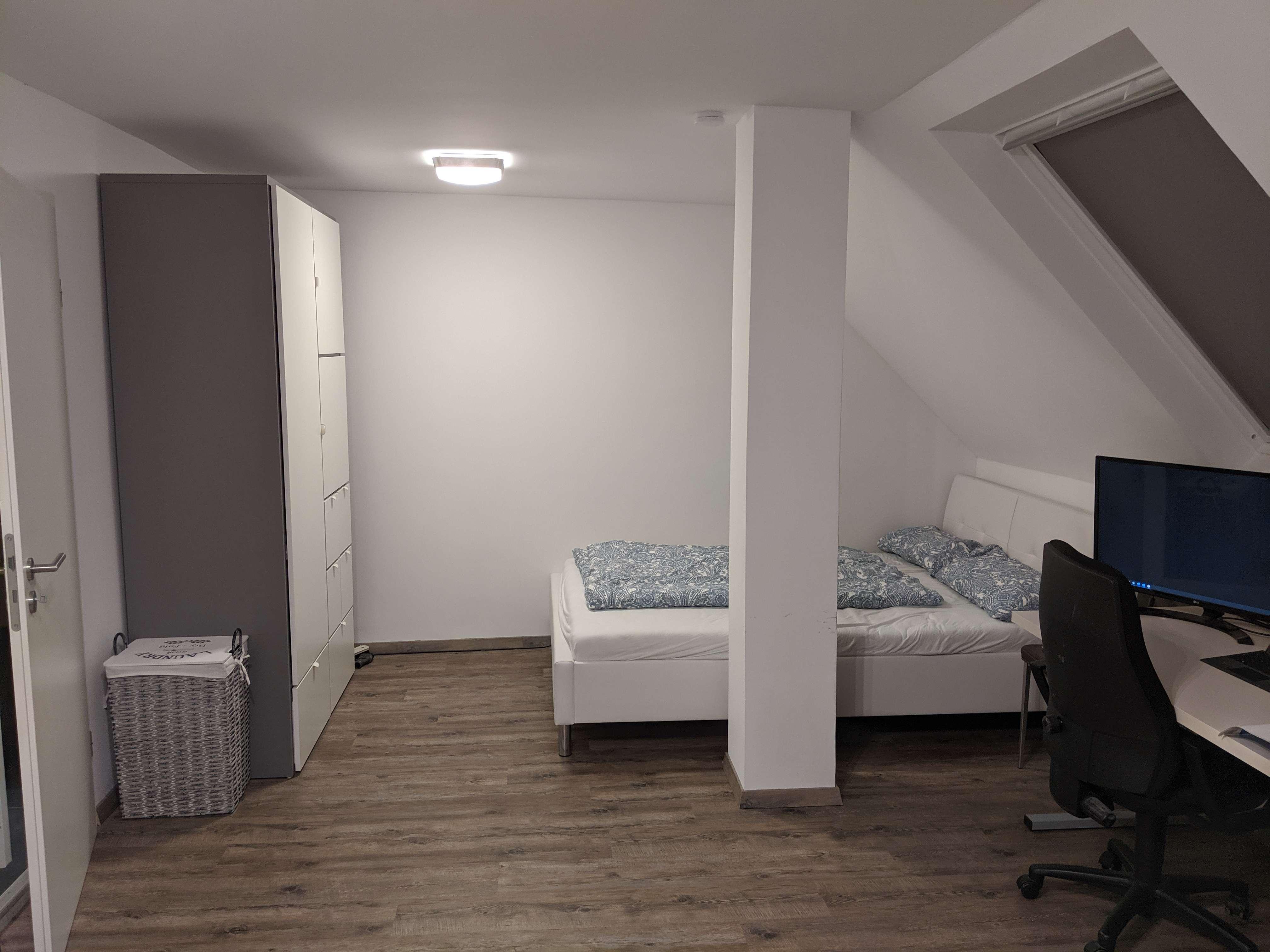 Schöne, geräumige ein Zimmer Wohnung in Augsburg, nähe Wertachbrücke in Augsburg-Innenstadt