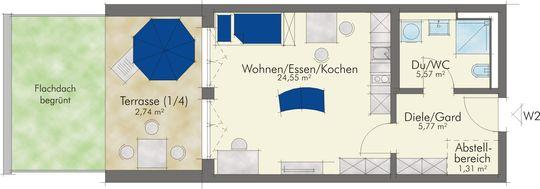 Wohnung Nr. 2 EG