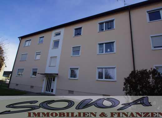 gemütliche 3 Zimmer – Wohnung im 1.OG mit Garage in Neuburg - Stadtnähe
