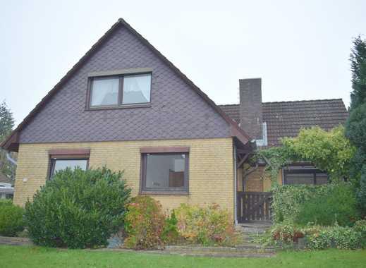 Solides Winkel-1-2-Familienhaus in ruhiger Lage von Flüggendorf