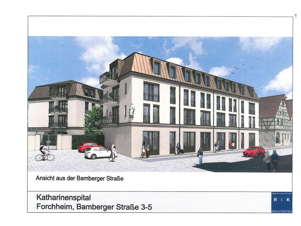 Ansicht aus der Bamberger Str