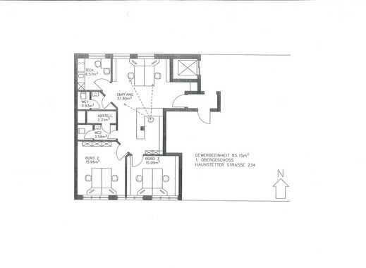 b ro mieten in haunstetten augsburg b ror ume. Black Bedroom Furniture Sets. Home Design Ideas