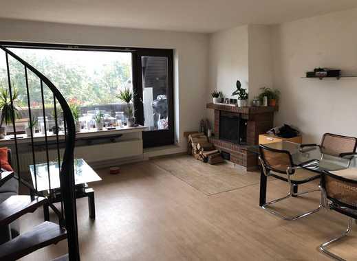Gepflegte 3-Zimmer-Maisonette-Wohnung mit Balkon und EBK in Hildesheim