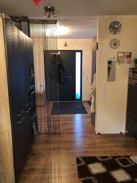 Neubauwohnung auf 2 Etagen mit Garten/Terrasse/Parkplatz/Küche/2,5 Zimmer in Bärenkeller (Augsburg)